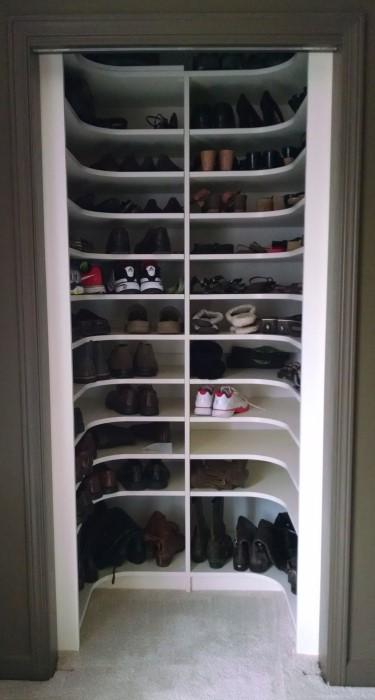 Shoe Storage Atlanta Closet