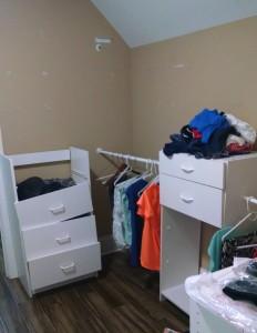 Atlanta Closet - Melamine Failure