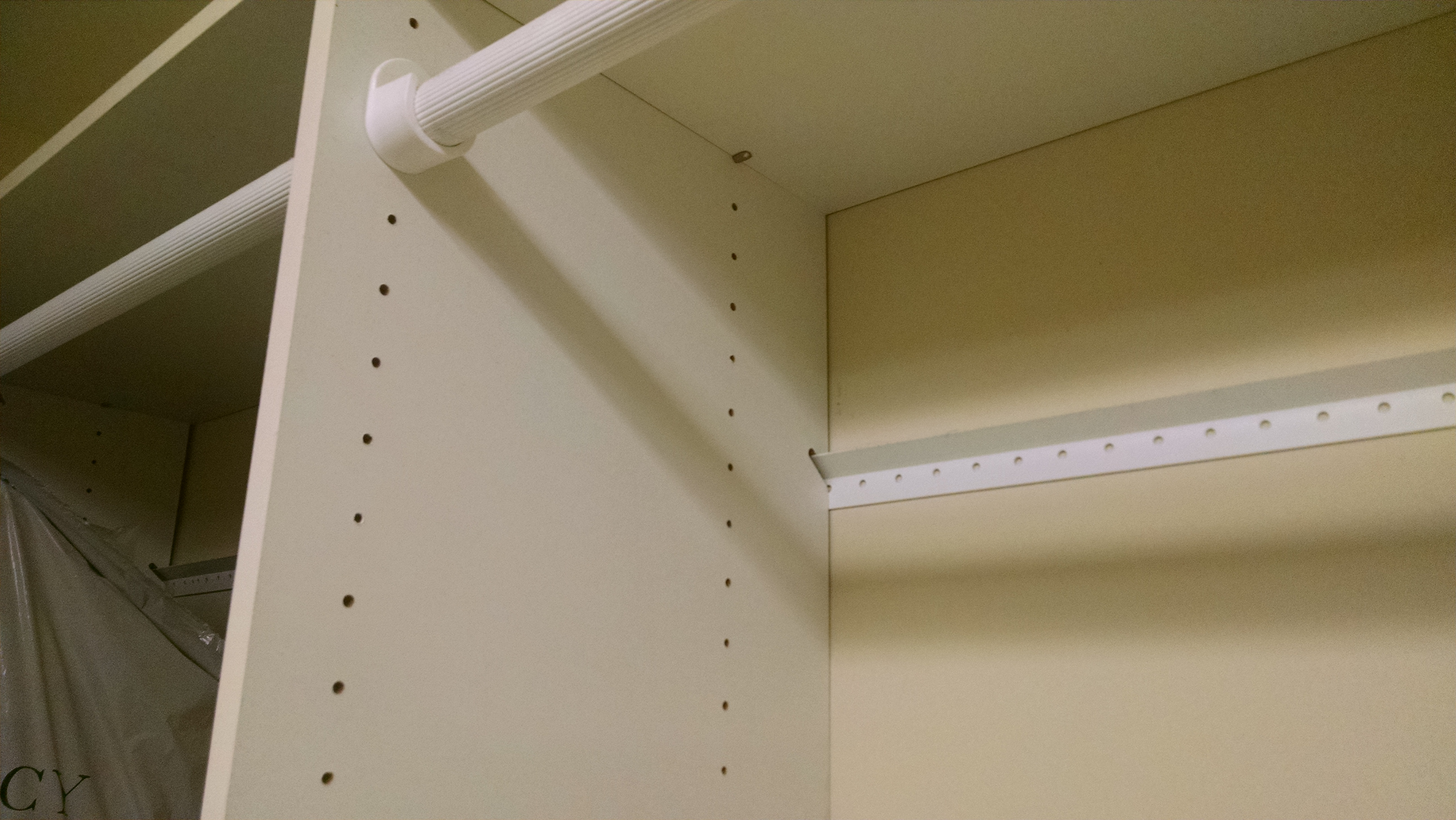 Charmant Atlanta Closet   Small Metal Rail