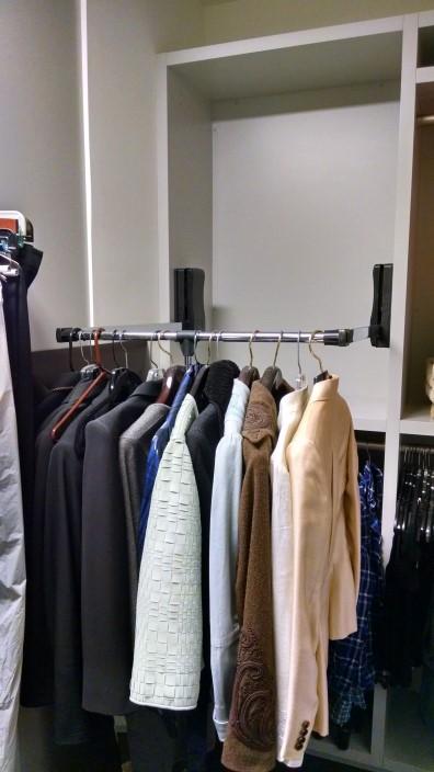 Atlanta Closet Wardrobe Lift Down