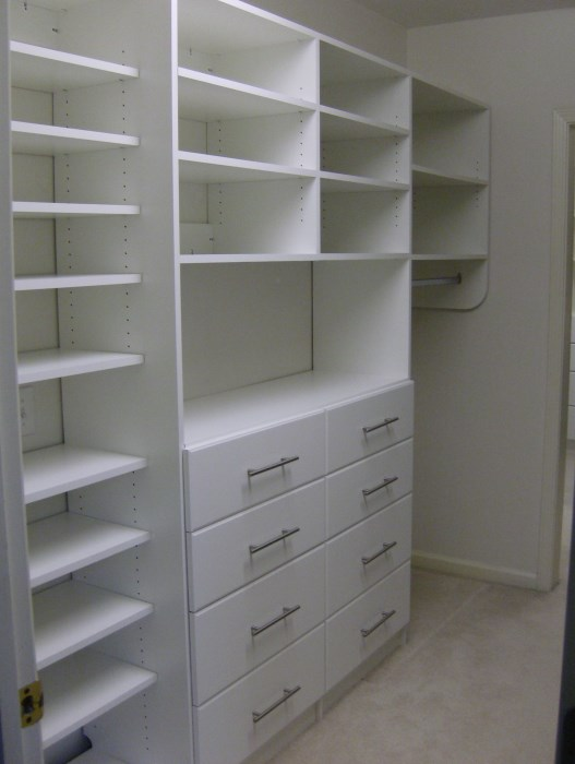 Perfect Double Hutch, Slab Drawer Face With Contemporary Satin Nickel Pulls ...