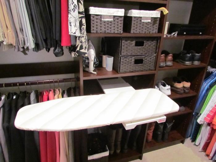 Atlanta closet storage solutions ironing boards for Iron closet storage