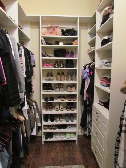 Atlanta closet storage solutions simple closets for Small walk in closet solutions