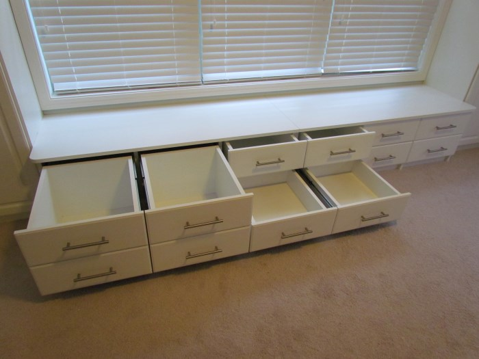 window seat with drawers custom built window sun room window seat drawers open atlanta closet storage solutions benches