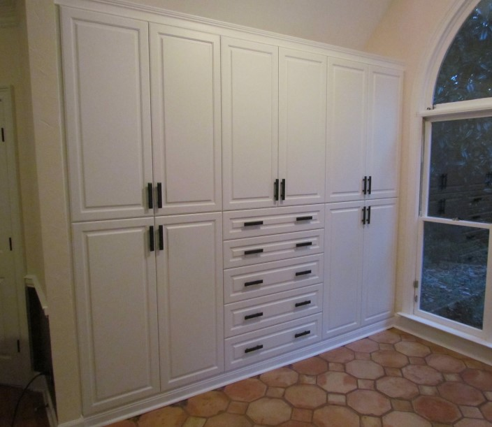 Custom Living Room Cabinets With Doors Collection