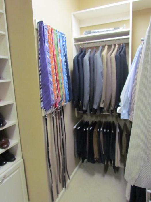 Atlanta Closet Storage Solutions Belts Ties
