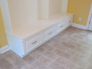 Laminate Mudroom Top