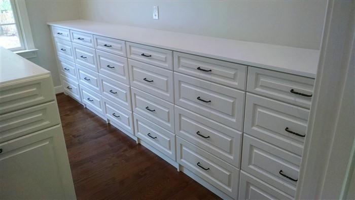 Long Built In Dresser