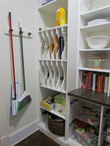 Pantry with Tray Dividers
