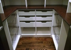 Close-up of Wire Baskets and Pullouts