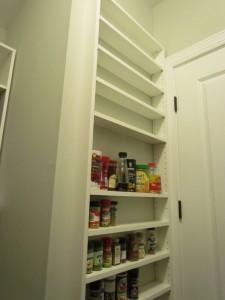 Shelves Nook behind Door