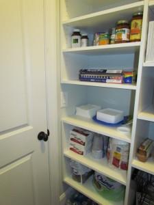 Shelves Accommodating Light Switch