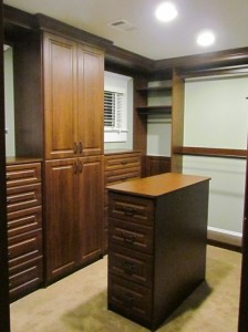 Cabinetry Surrounds Windows