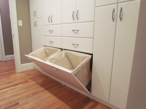 Built-in with Double Hampers