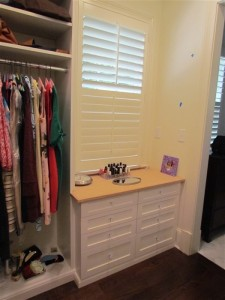 Dressing Table under Window