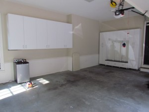 Garage Wall and Mudroom Cabinets