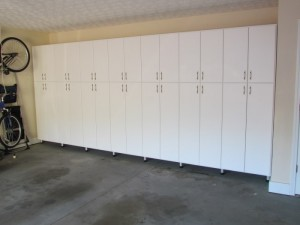 Tall Wall-to-wall Cabinetry