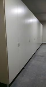 Long Garage Wall Perspective