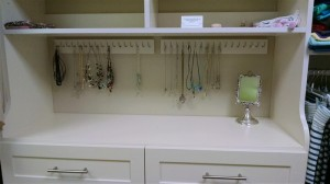 Hutch with Necklace Hooks