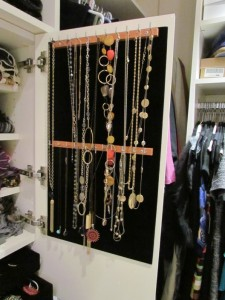Jewelry Cabinet Necklace Door