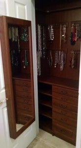 Mirror Door Accessories Cabinet