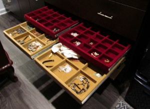 Multiple Jewelry Drawers