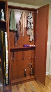 Necklace and Scarf Cabinet
