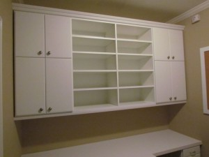 Craft Room Upper Cabinets