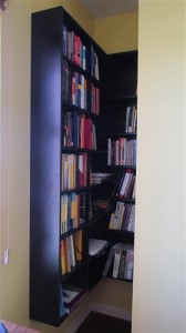 Custom Corner Book Nook