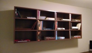 Open Office Wall Cabinet Shelves
