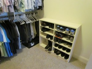 Low Shoe Shelves