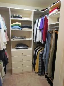 His Hanging Closet