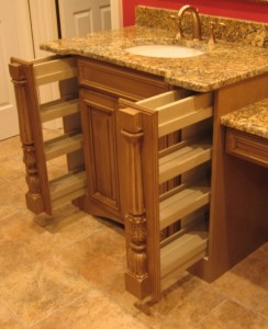 Custom Pullout Pilasters