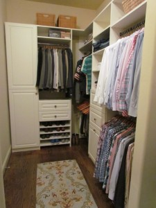 His End of a Wide Shallow Closet