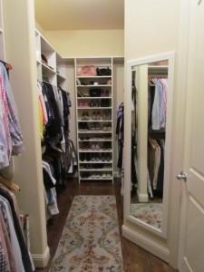 Her End of a Wide Shallow Closet