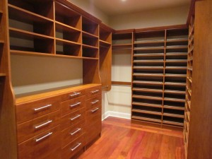 New Closet Ready for Action!