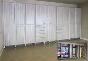 Wall to Wall Garage Storage