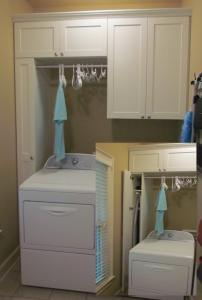 Atlanta Closet Laundry Room Ironing and Hanging
