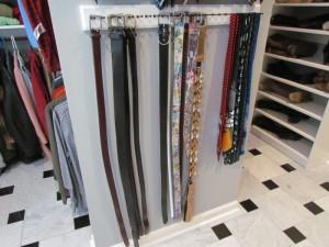 Mounted Belt Racks
