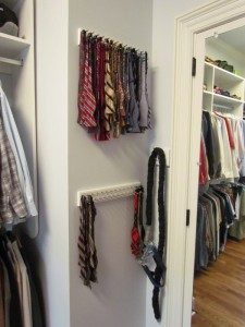 Mounted Bow Tie Rack