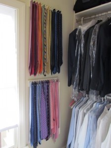 Colorful Wall of Ties
