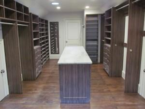 Modern Closet in Converted Attic