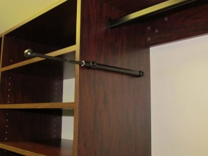 Extended Oil Rubbed Bronze Valet Rod