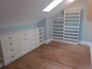 Drawers Under Sloped Ceiling