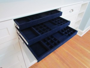 Triple Jewelry Pullout Trays