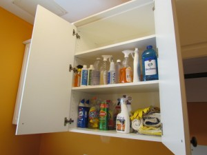 Open Upper Cabinet
