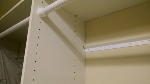 Atlanta Closet - Small Metal Rail