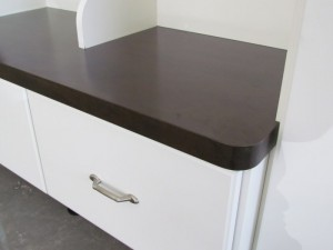 Laminate Top with Radius Corner