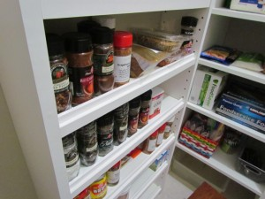 Spice Rack Close-up