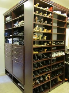 Dream Closet Outside Shoe Corner